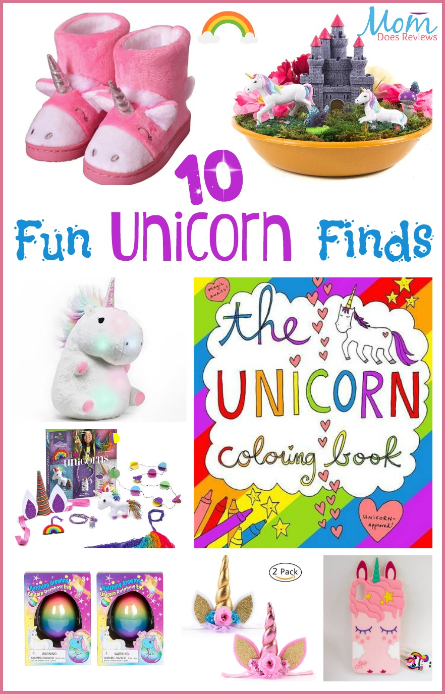 Fun Unicorn Finds #amazon #amazonprime #unicorns