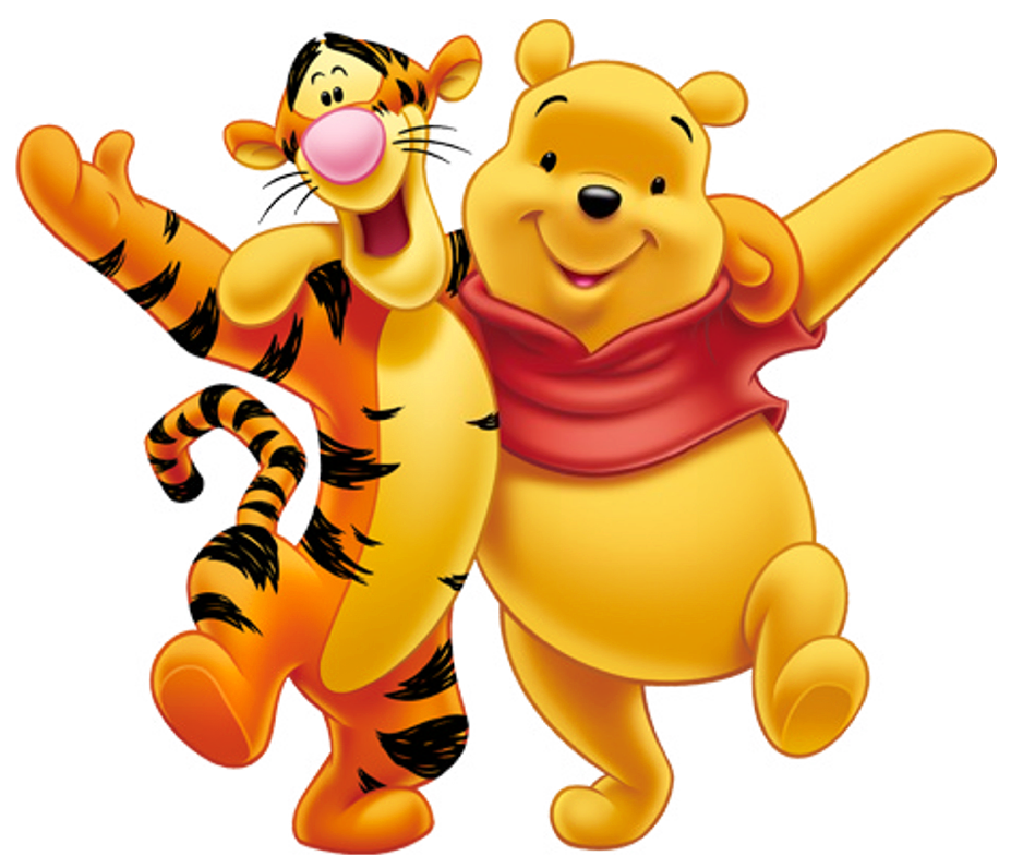 Tigger and Pooh #WinniethePooh
