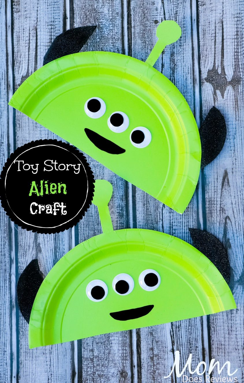 Toy Story Alien Craft #disney #toystory #craft