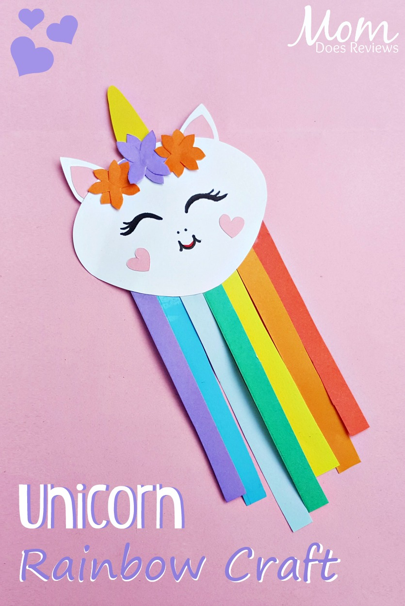unicorn rainbow craft #Unicorns #crafts #papercraft #magical