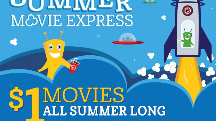Don't Miss the $1 Family Movies all Summer Long at Regal #MDRSummerFun