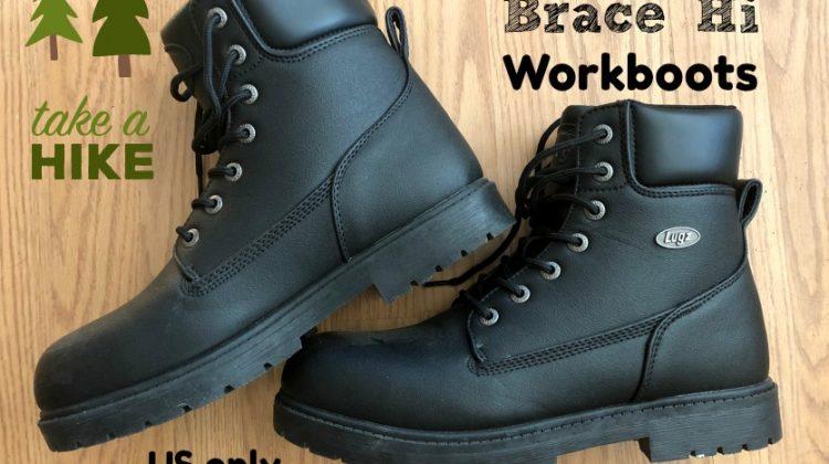 #Win Lugz Brace Hi Workboots! US ends 7/31 #MDRSummerfun