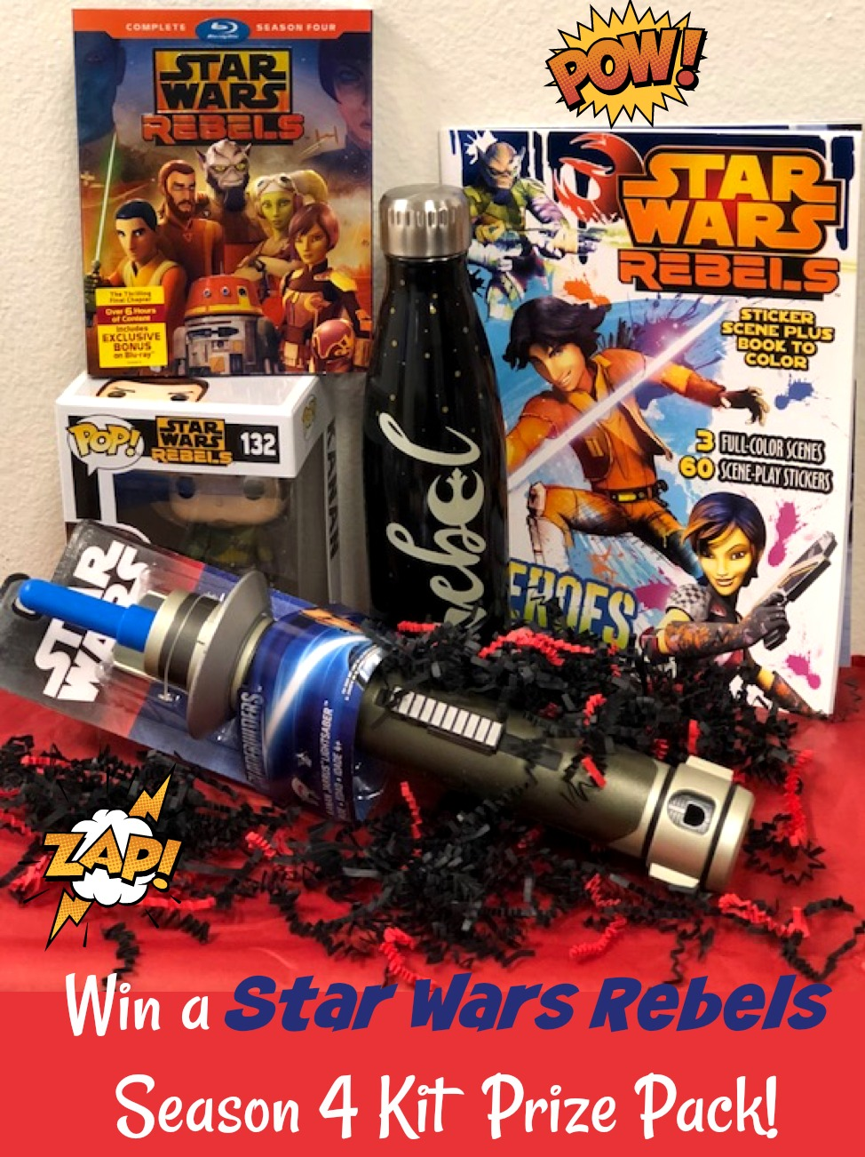 Star Wars Rebels Season 4 Kit Giveaway