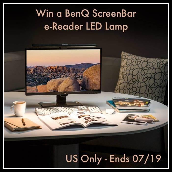 BenQ ScreenBar e-Reading LED Task Lamp ($99 Value)