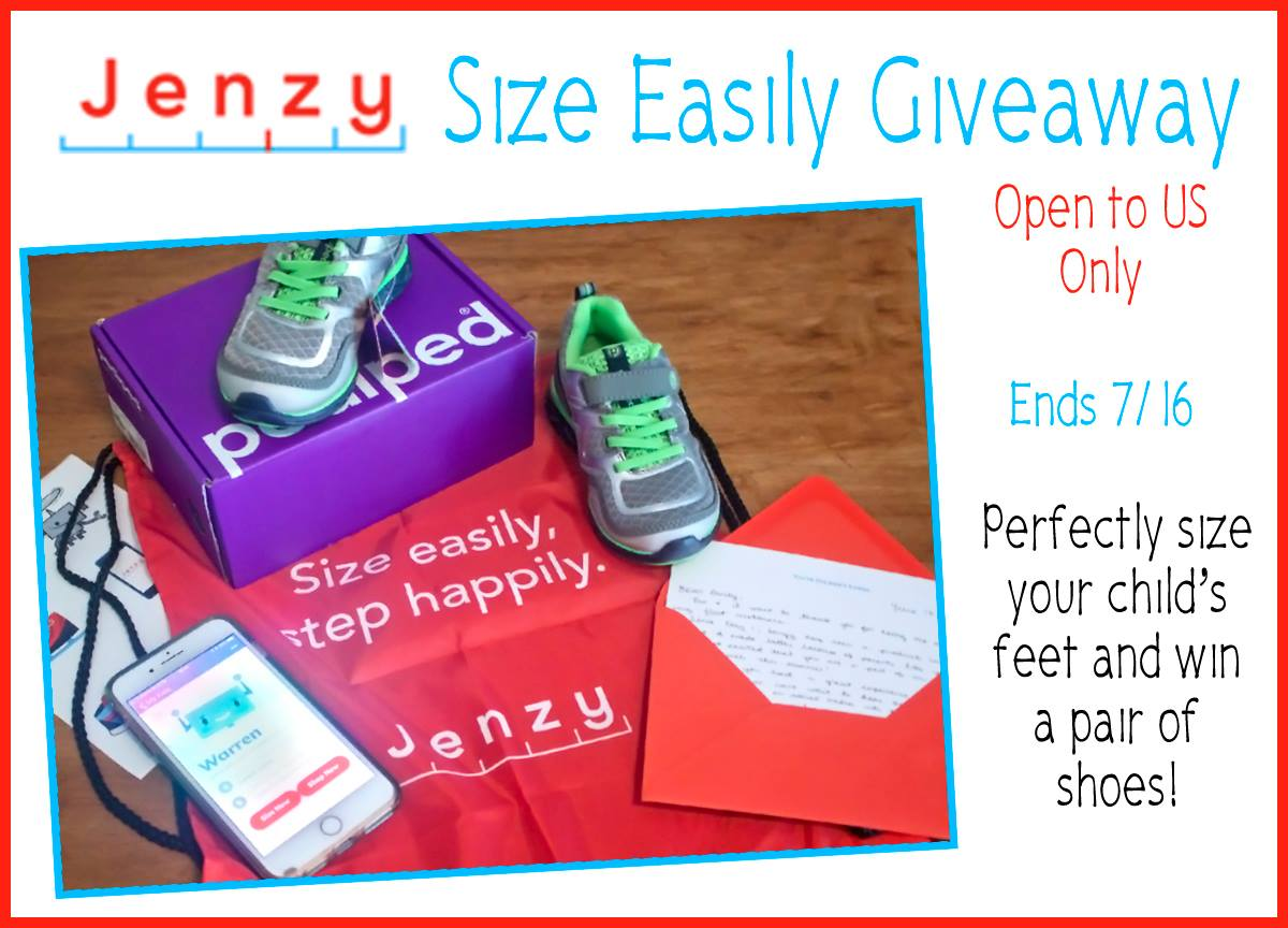 Jenzy Size Easily Shoe Giveaway