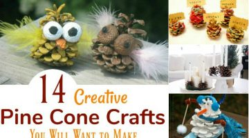 14 Creative Pine Cone Crafts You Will Want to Make