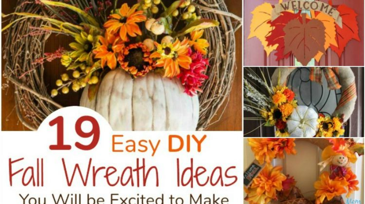 19 Easy DIY Fall Wreath Ideas You Will be Excited to Make