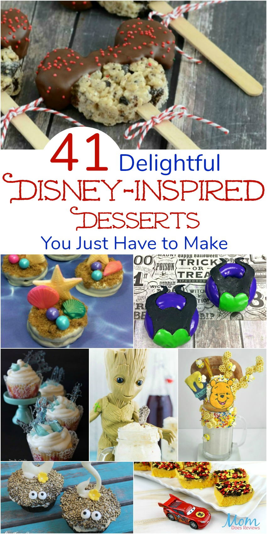 41 Delightful Disney-Inspired Desserts You Just Have to Make