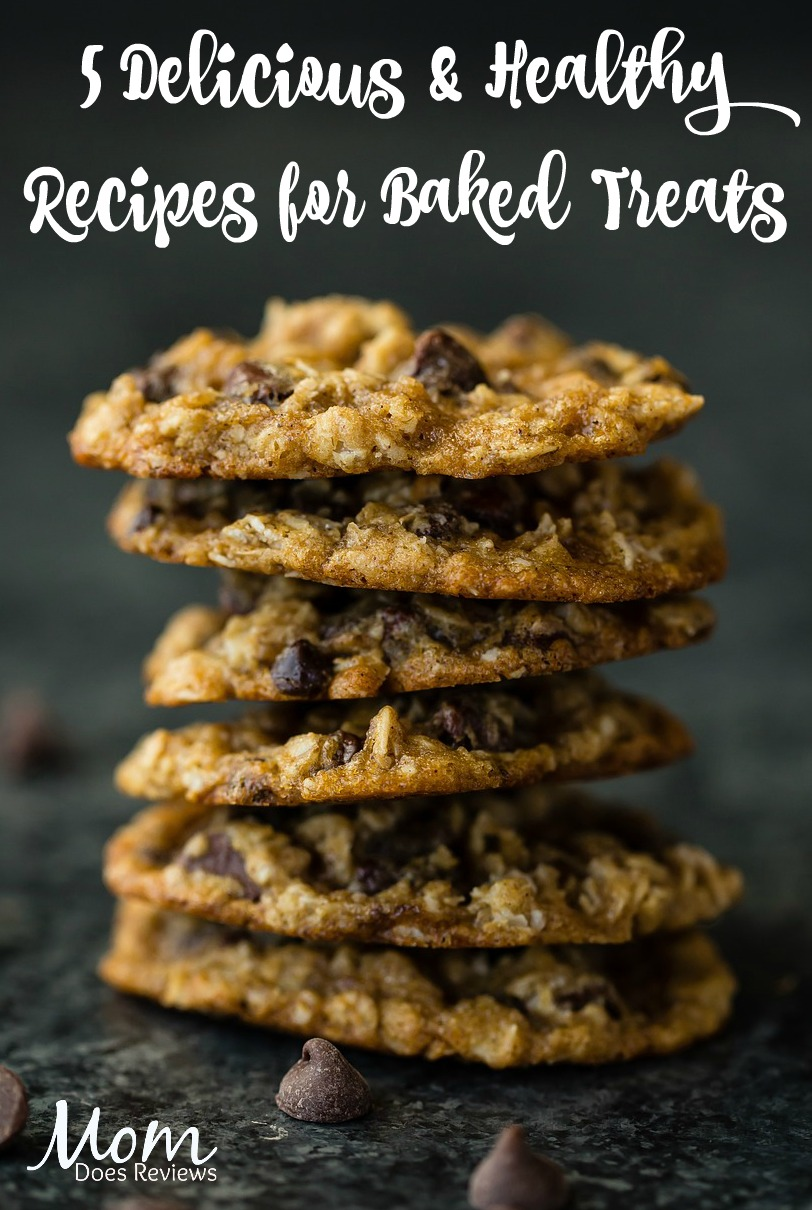 5 Delicious But Healthy Recipes for Baked Treats
