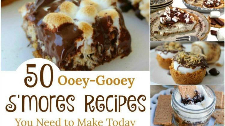50 Ooey-Gooey S'mores Recipes You Need to Make Today {Part 1}