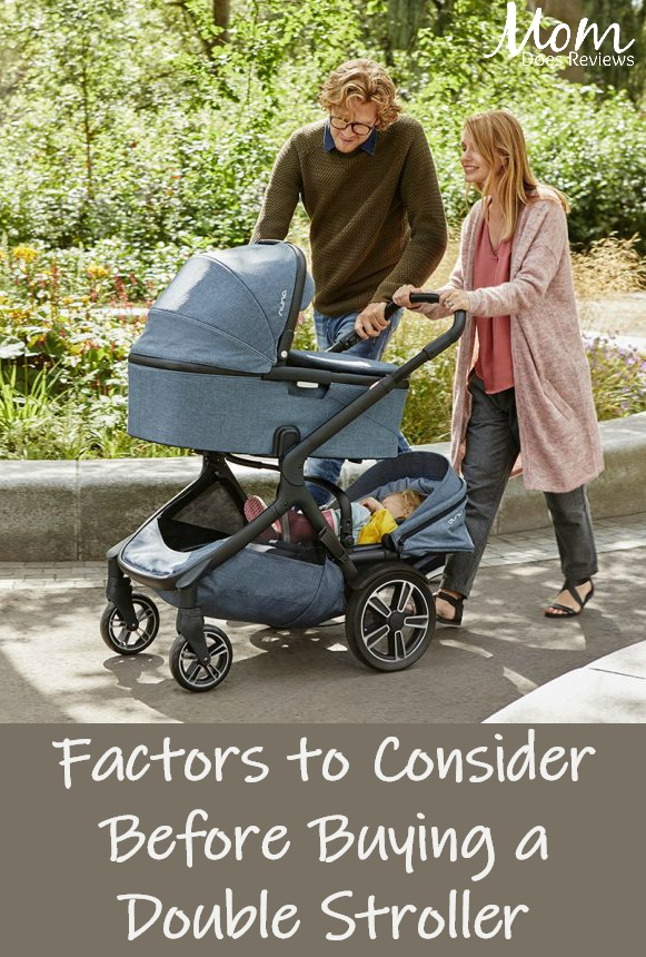 Factors to consider before buying a double pram and stroller #parenting #babies #twins