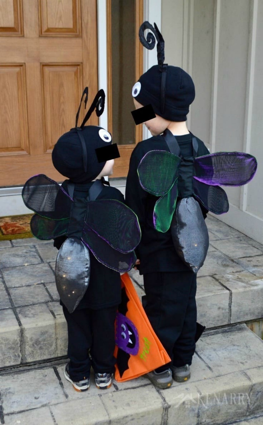 Firefly Costume DIY Lightning Bug Idea for Halloween