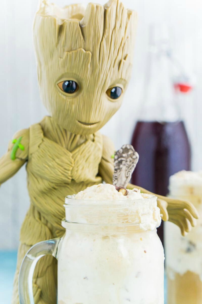 Guardians of the Galaxy Groot Root Beer Float