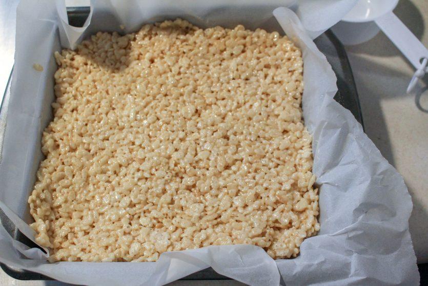 Back to School Chalkboard Rice Krispie Treats!