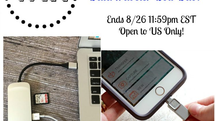 #Win Kingston DataTraveler Bolt Duo and Nucleum 7-in-1 USB Hub Open to US Only, ends 8/26 #Back2School18