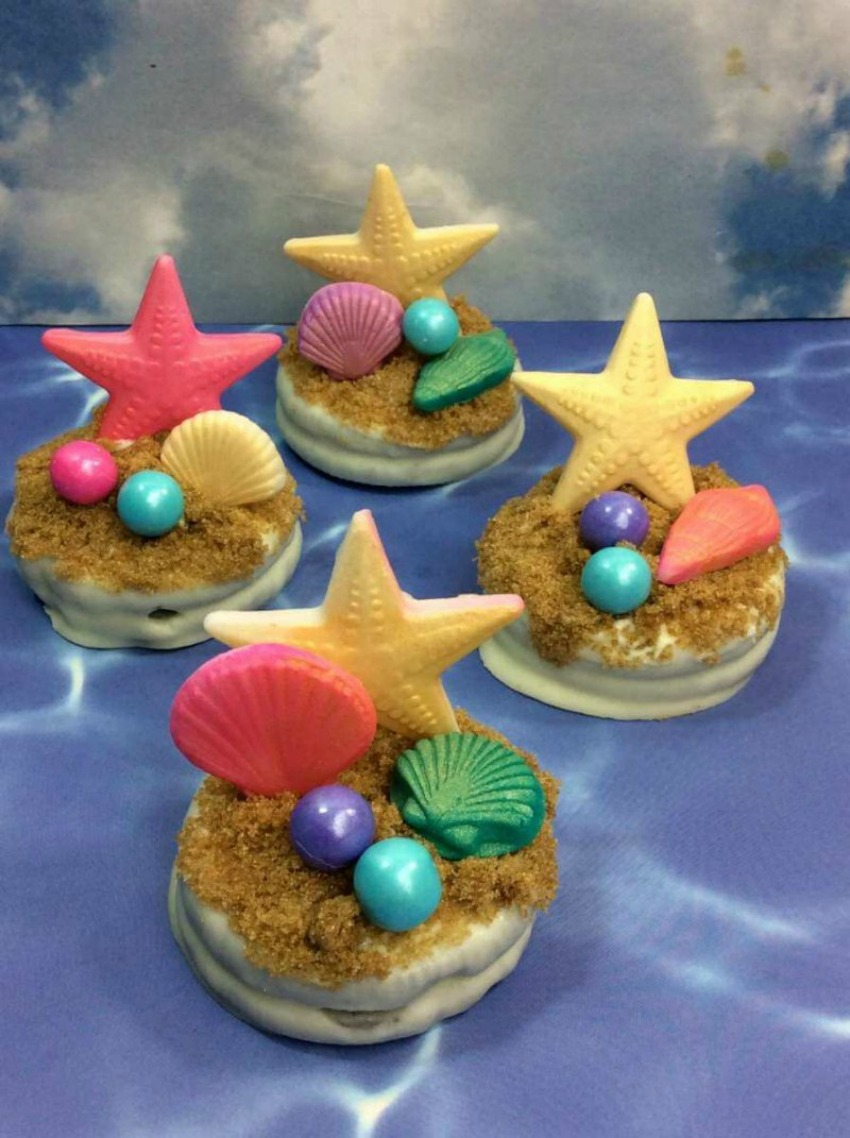 Little Mermaid Inspired Oreos Recipe