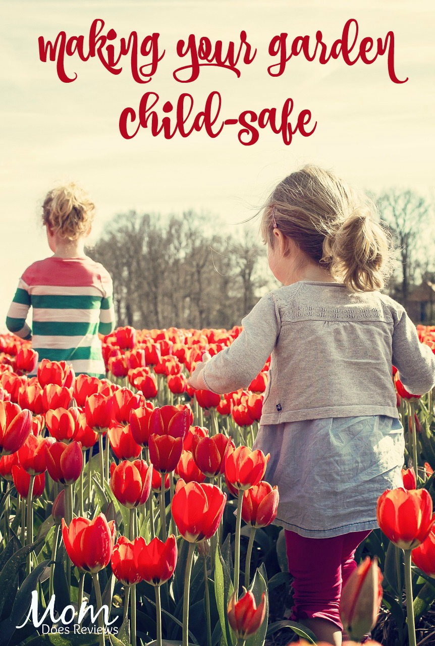 Making your garden child-safe #gardening #garden #safety