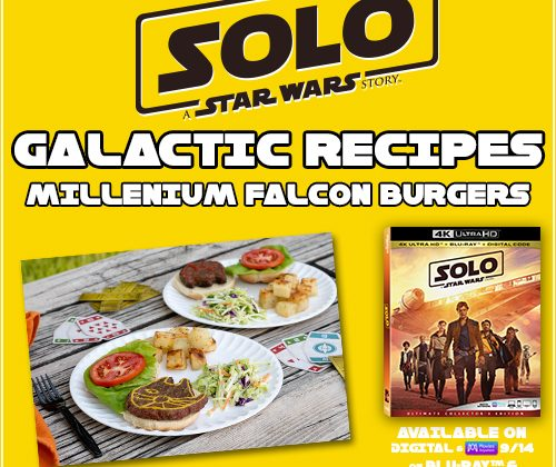 """Lucasfilm's """"Solo: A Star Wars Story"""" Arrives To Homes Digitally on 9/14 and on Blu-ray 9/14 & Recipes! #solo"""