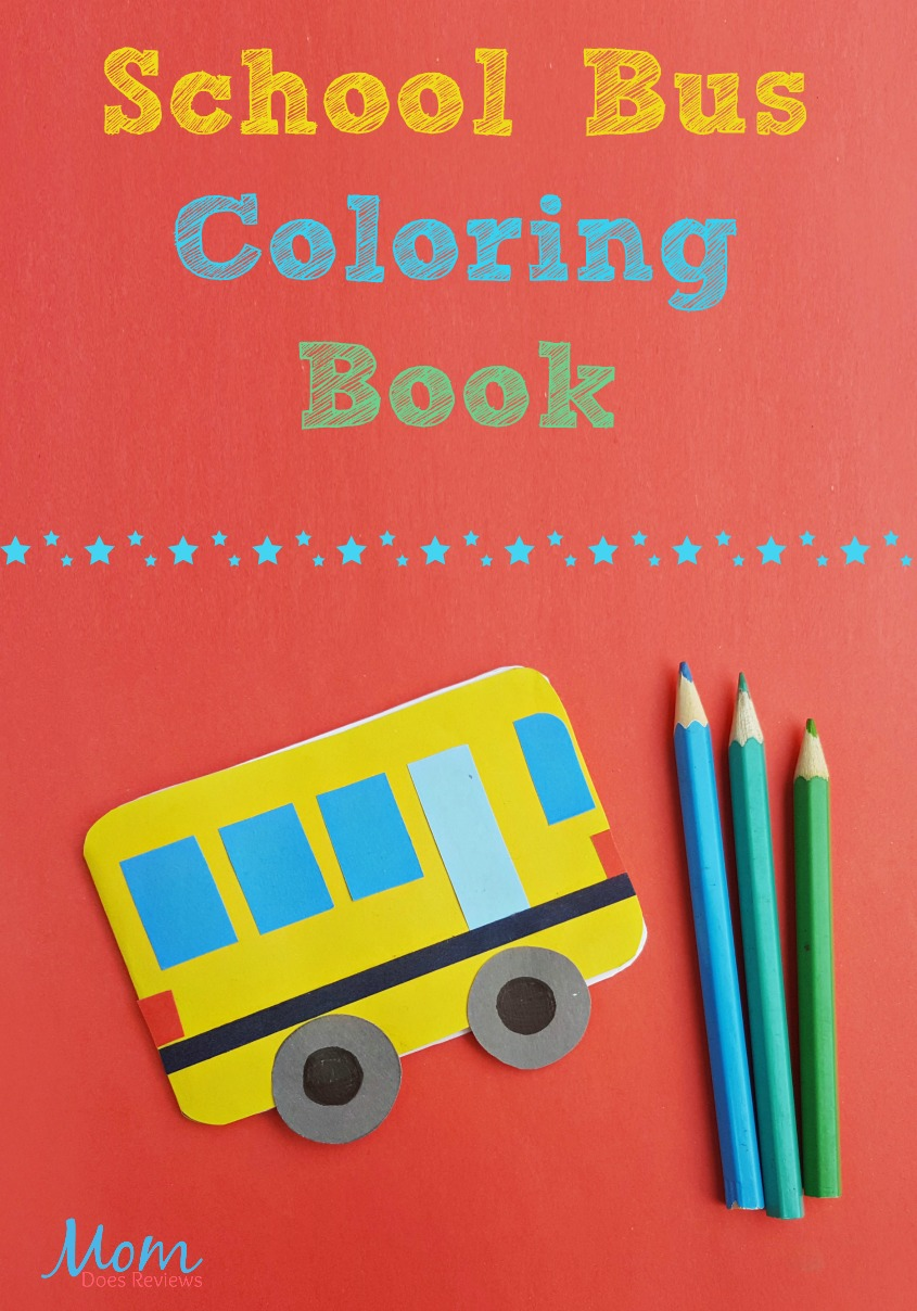 School Bus Coloring Book #Bts #craft #coloring #Back2School18