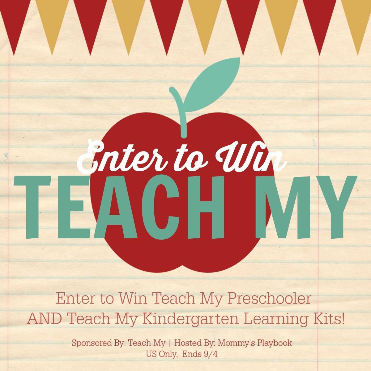 Teach My Back to School 2018 Giveaway Event! #TeachMyBTS2018