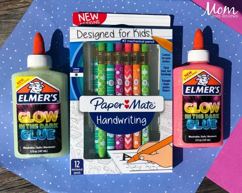 Elmers and papermate