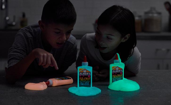Elmers glow in the dark slime