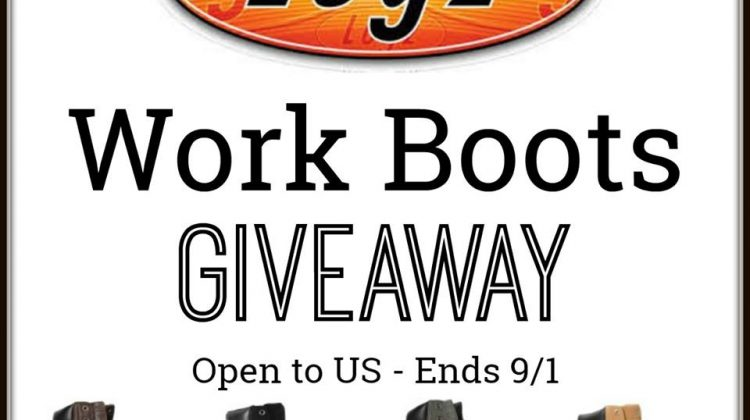 Lugz Work Boot Giveaway- Open to US Only – Ends 9/1