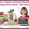 Win Manuka BTS prize pack #SnackToSchool #ShopPRI #ManukaHealth
