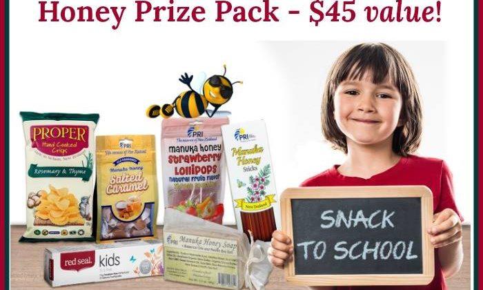 #Win a 'Snack to School' Manuka Honey Prize Pack US ends 8/29 #SnackToSchool #ShopPRI #ManukaHealth