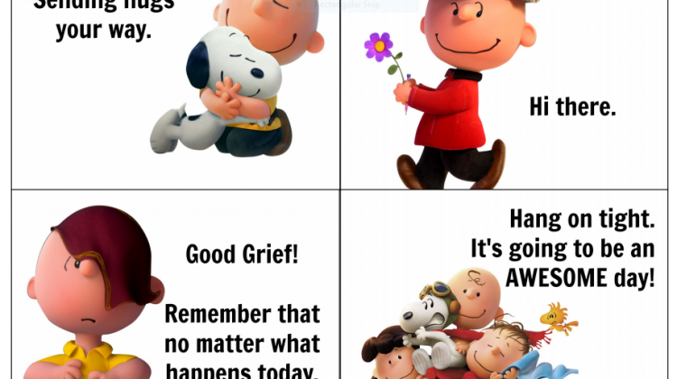 Peanuts Lunch Box Notes