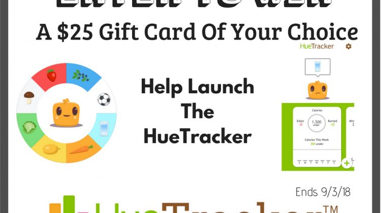 #Win $25 Gift Card – Winner's Choice, US only, Ends 9/3 #EatHues #HueTracker