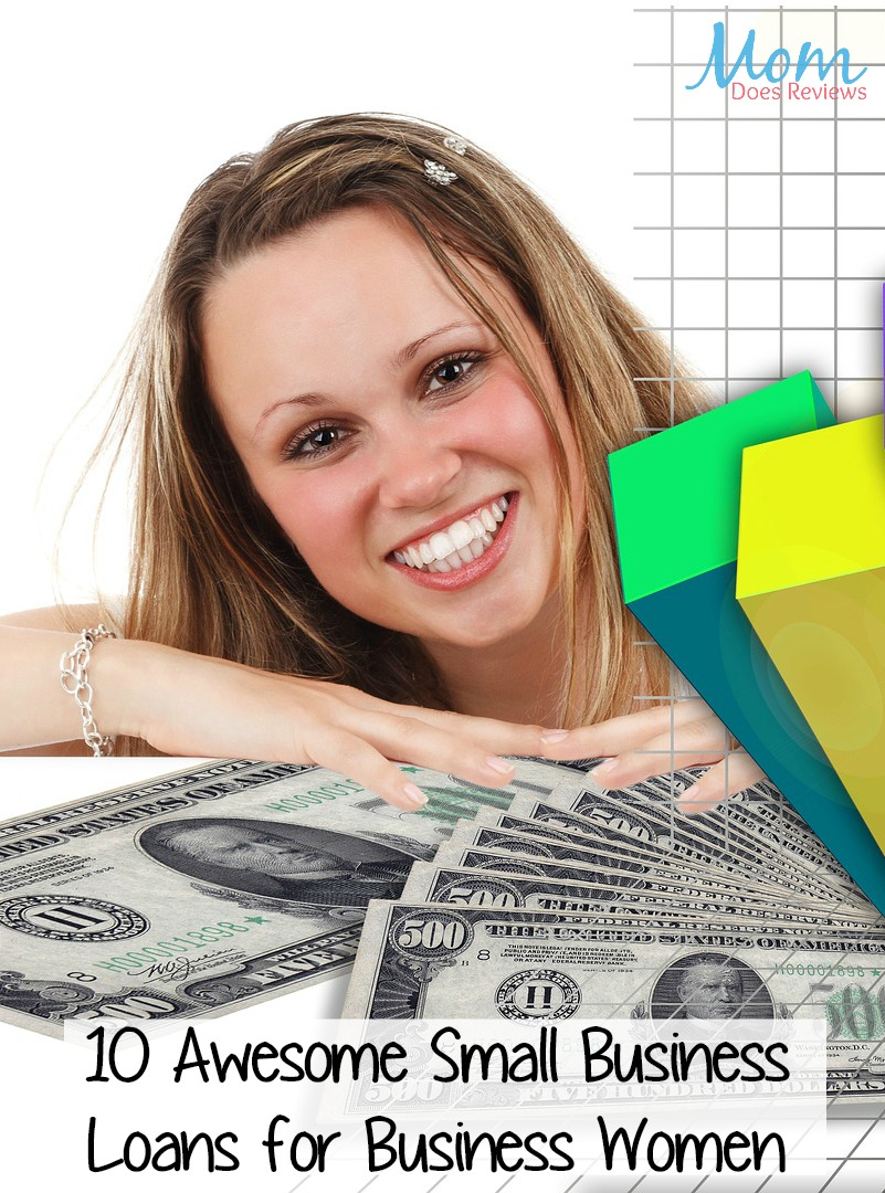 10 Awesome Small Business Loans for Business Women #loans #business