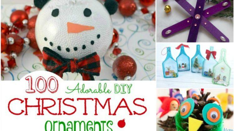 100 Adorable DIY Christmas Ornaments to Hang on Your Tree