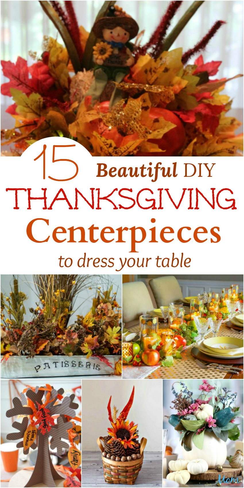 15 Beautiful DIY Thanksgiving Centerpieces to Dress Your Table