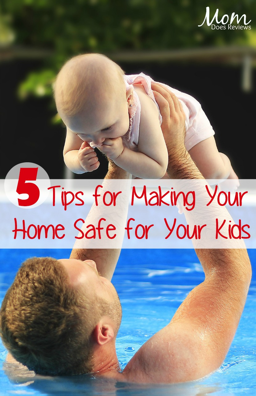 5 Tips for Making Your House Safe for Your Little Ones #homeandliving #safety #parenting