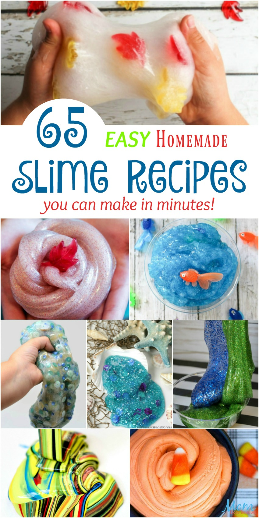 65 Easy Homemade Slime Recipes You Can Make in Minutes