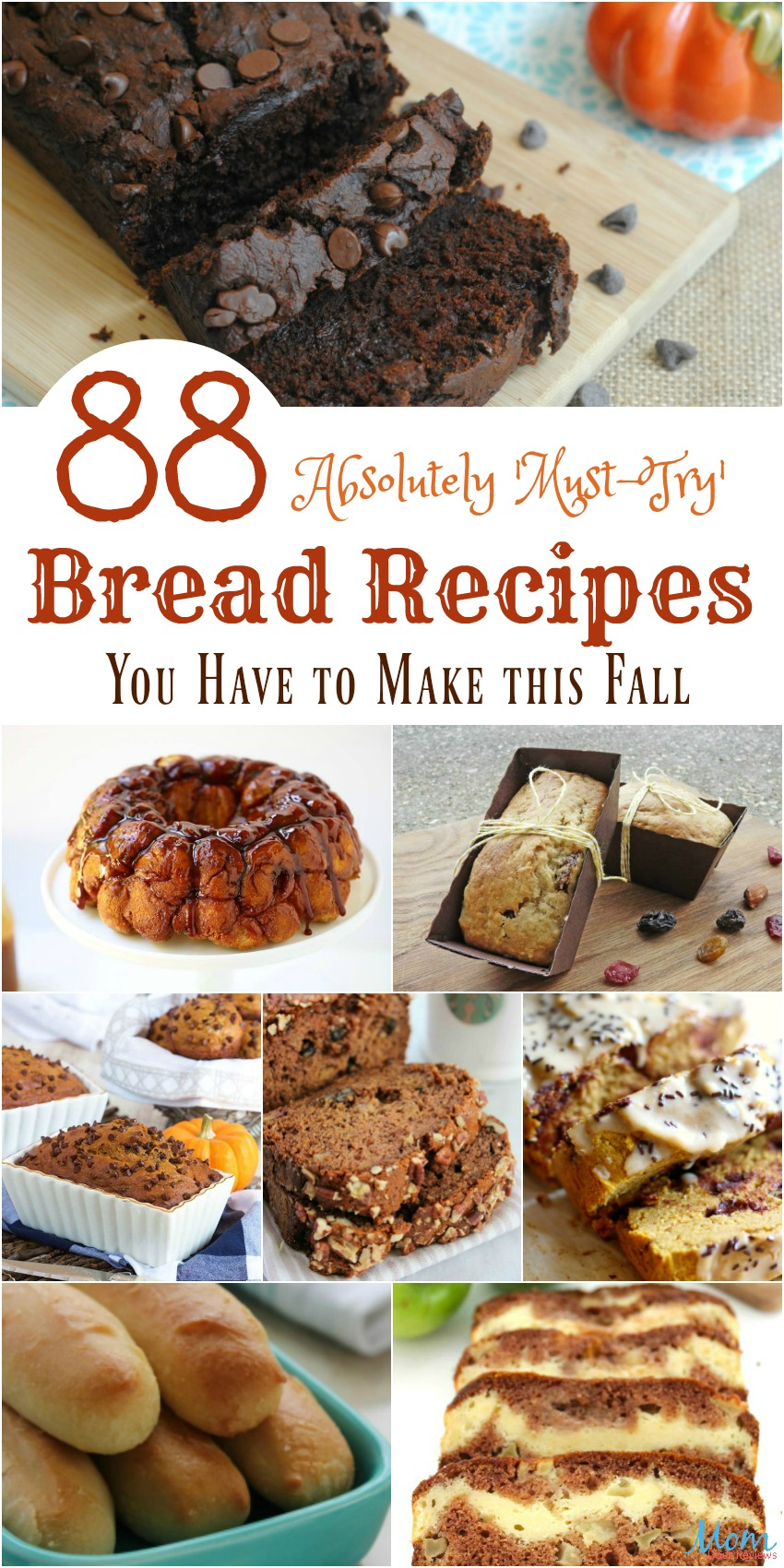 88 Absolutely Must-Try Bread Recipes You Have to Make this Fall