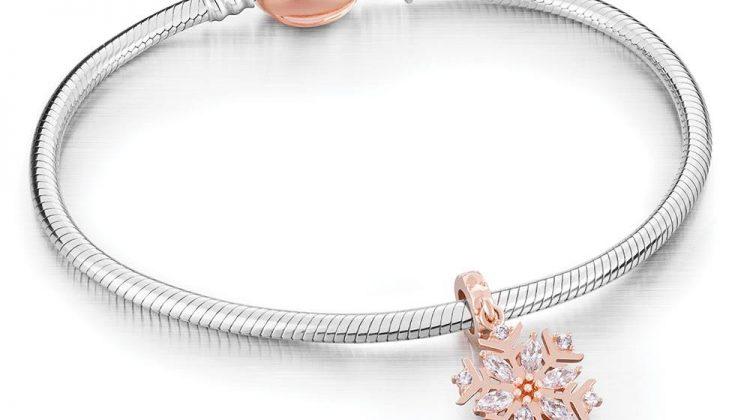 Chamilia Blush Bracelet with Stunning Chamilia Blush Snowflake Charm #review