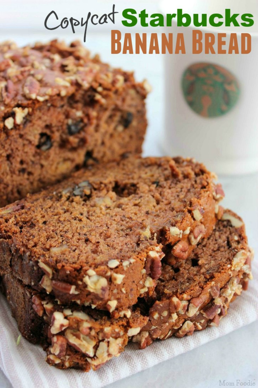 Copycat Starbucks Banana Nut Bread Recipe