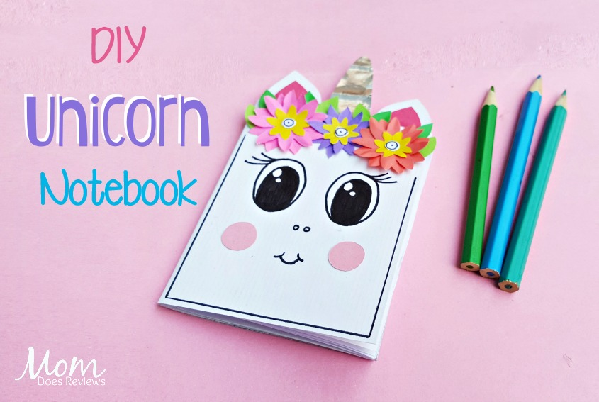 DIY Unicorn Notebook