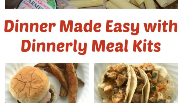 Make Tasty School Night Meals Easily with Dinnerly Meal Kits #Back2School18