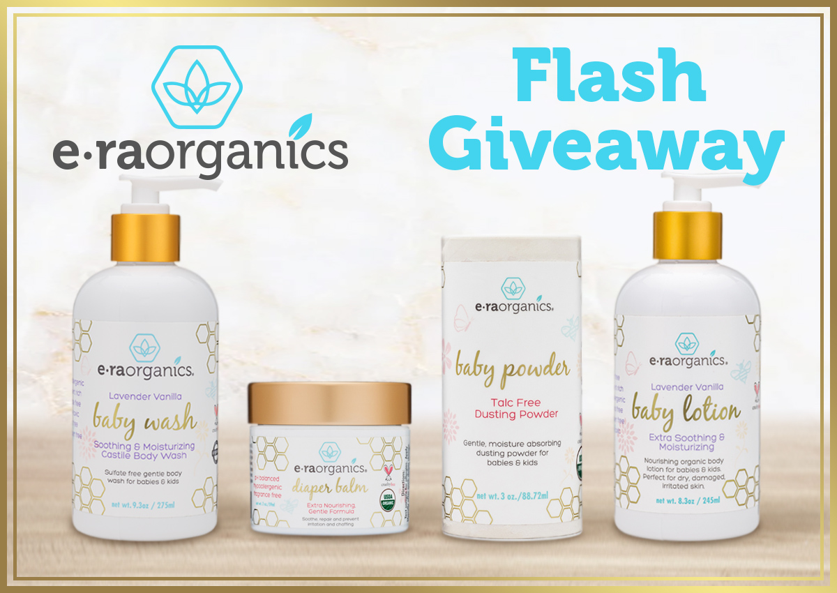 Win an ERA organics Baby Prize Pack US Only