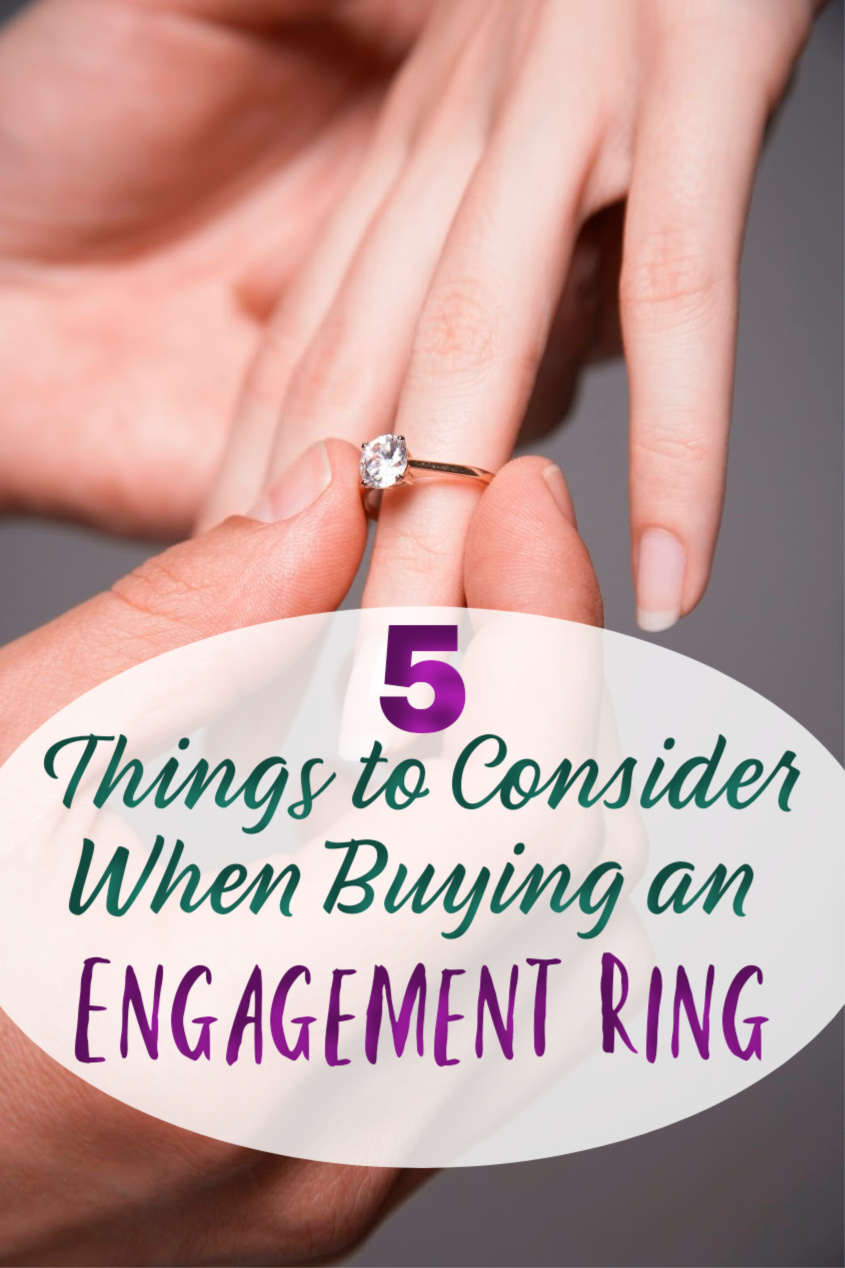 Five Practical Things to Consider When Purchasing an Engagement Ring