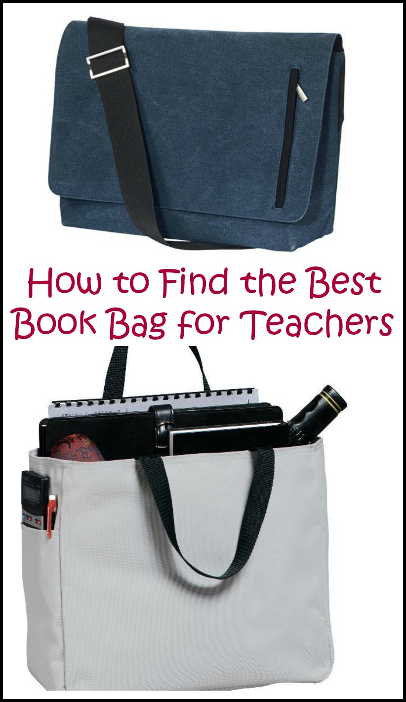 How To Find The Best Book Bag For Elementary School Teachers Teaching