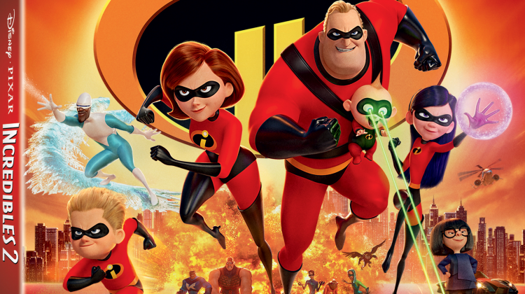 Disney Pixar's Incredibles 2 Arrives Digitally Oct. 23 and on Blu-ray Nov. 6 #Incredibles2