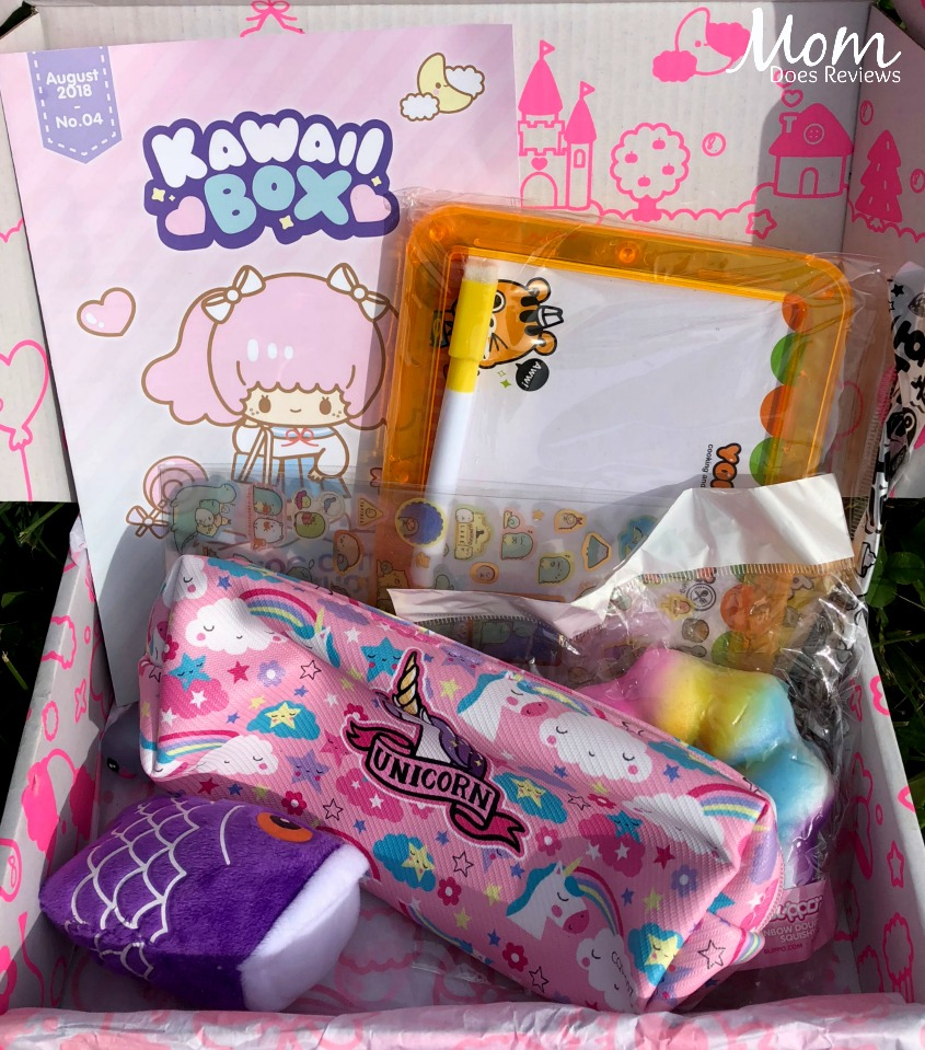 Super Cute Kawaii Box - Give one for Christmas & #Giveaway #KawaiiBox #MegaChristmas18