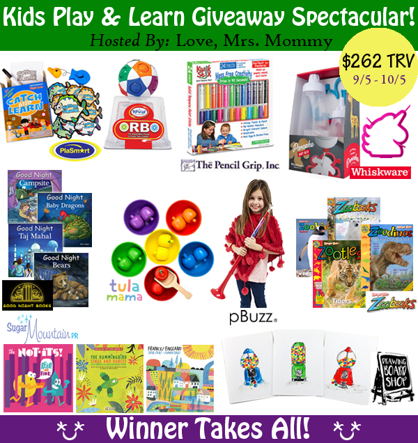 Kids Play and Learn Giveaway