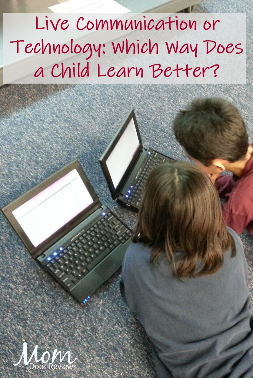 Live Communication or Technology: Which Way Does a Child Learn Better? #technology #education #learning