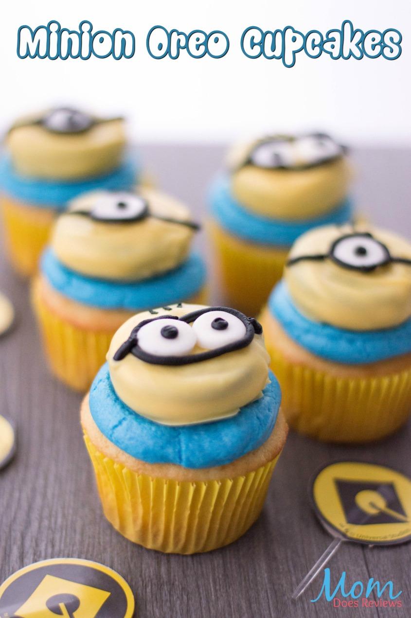 Minion Oreo Cupcakes #desserts #minions #cupcakes