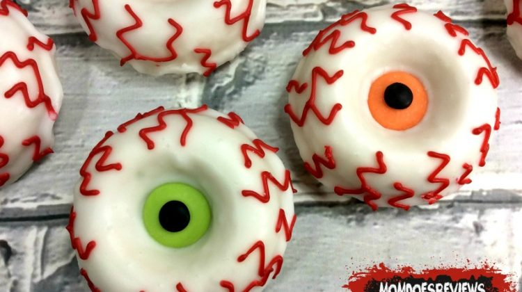 Make your Own Monster Eye Donuts #FunHalloween18